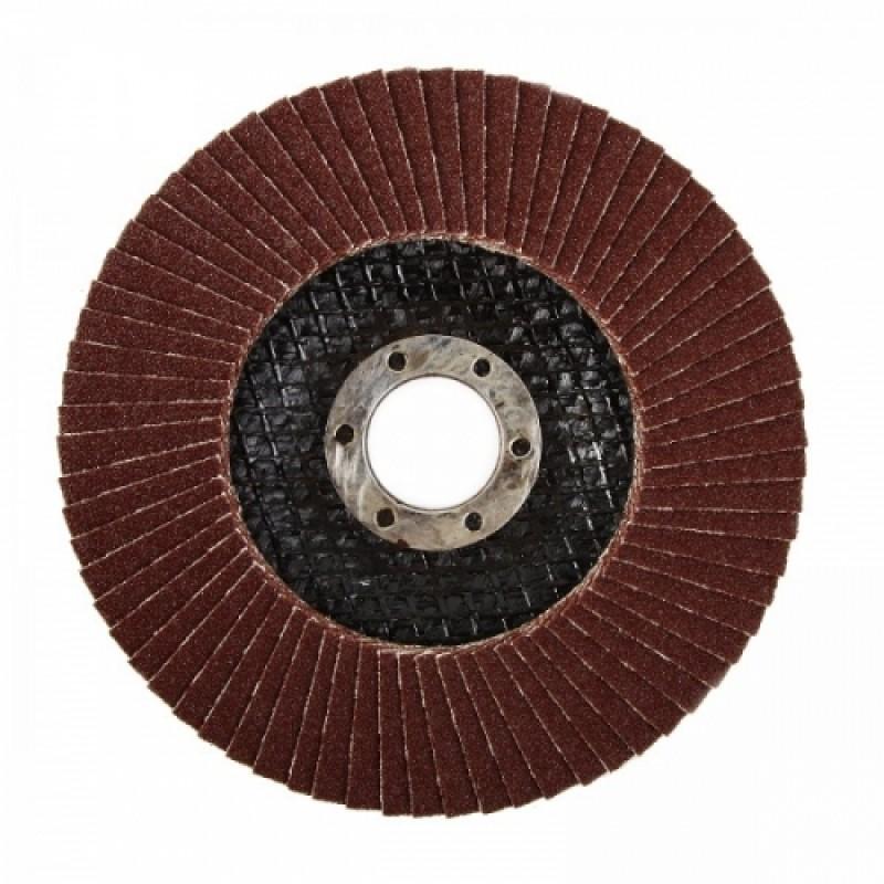 Круг лепестковый торцевой 125*22,5*22 мм Р80