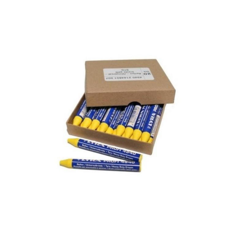 """Восковый маркировочный мел """"REMA TIP TOP"""" (1 шт.) (жёлтый) 595 8432"""