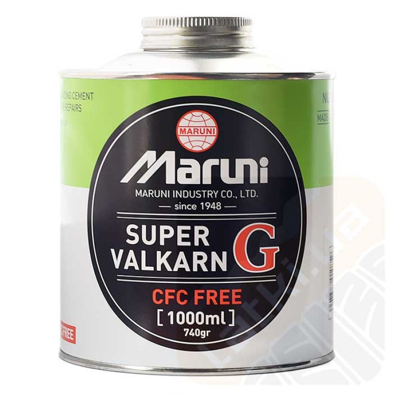 """Клей """"Maruni"""" S VALKARN G (зелёный) 1000CC (1,4 кг)"""