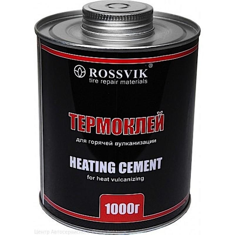 Термоклей ROSSVIK, 1000 мл./1000гр. (банка с кистью)