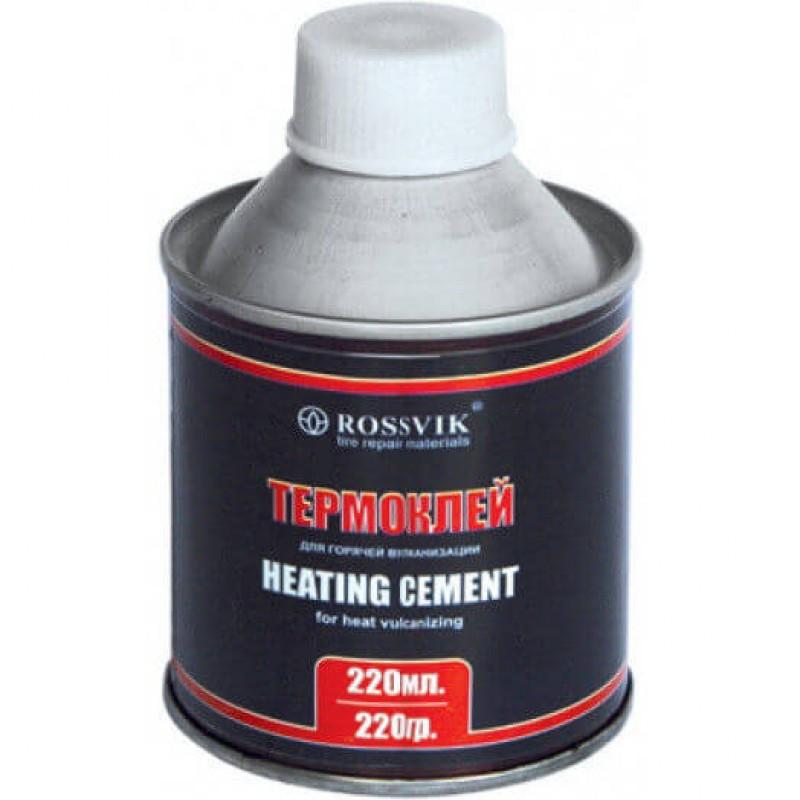 Термоклей ROSSVIK 220 гр/220 мл (банка с кистью)