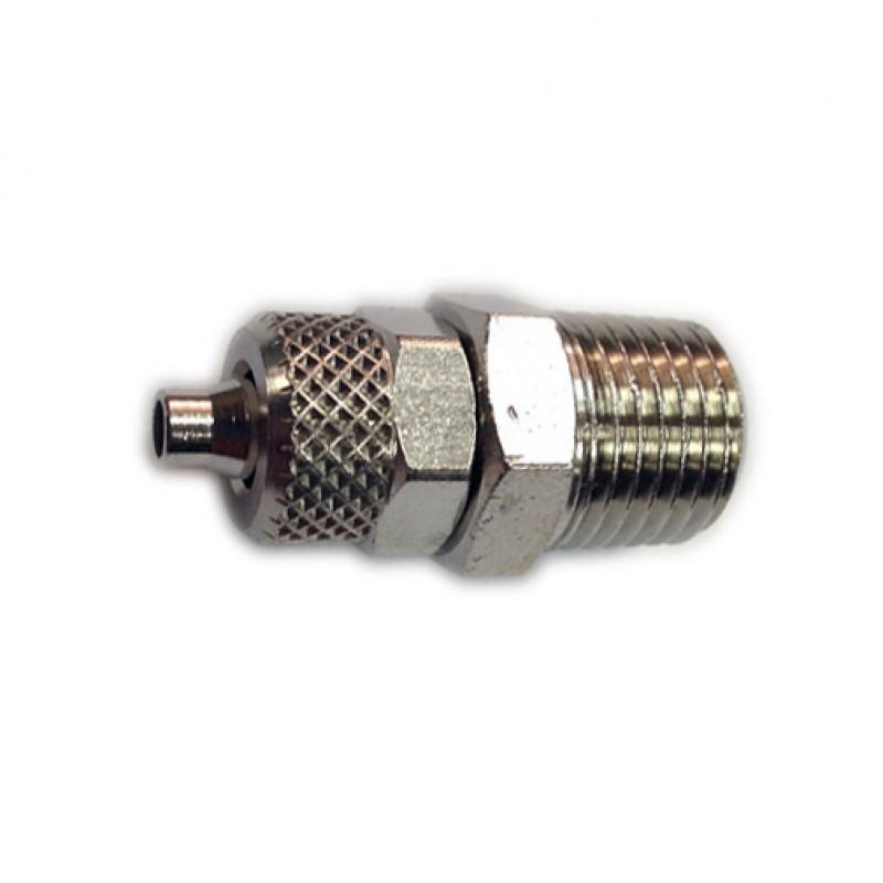 """А160/2 Фитинг для пластиковых труб М1/8"""" 4х6мм."""