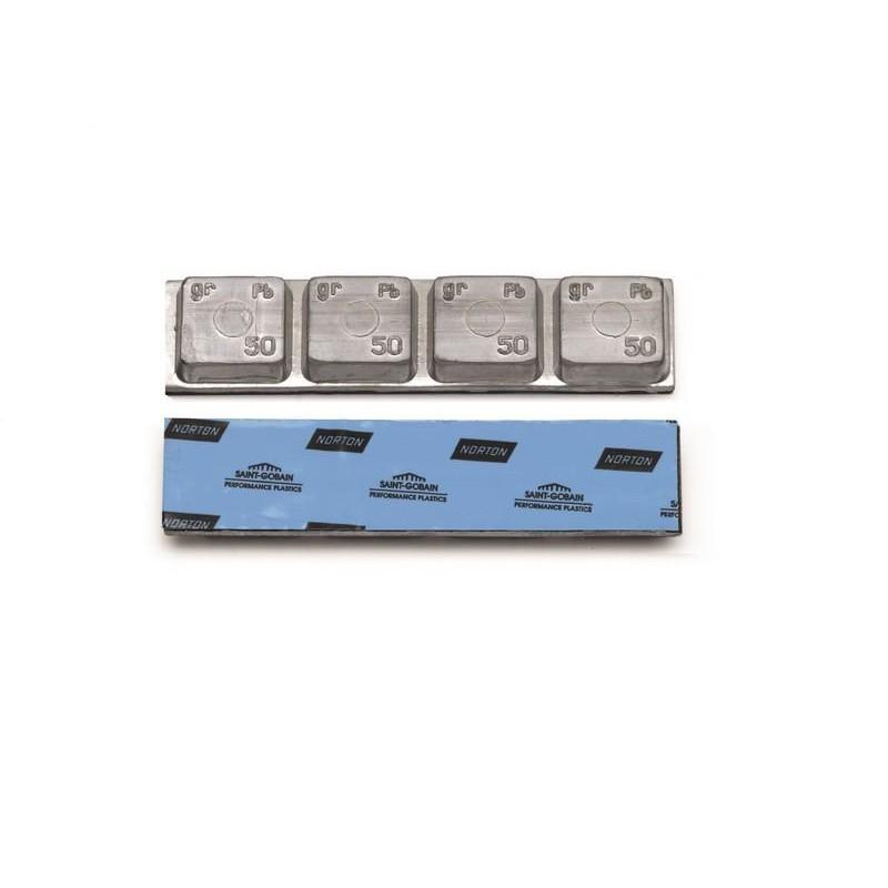 Грузовой грузик самоклеющийся тонкий по 200 грамм (20 шт.) 0063T