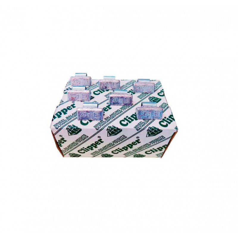 Упаковка грузиков по 20 грамм на литьё (100 шт.)