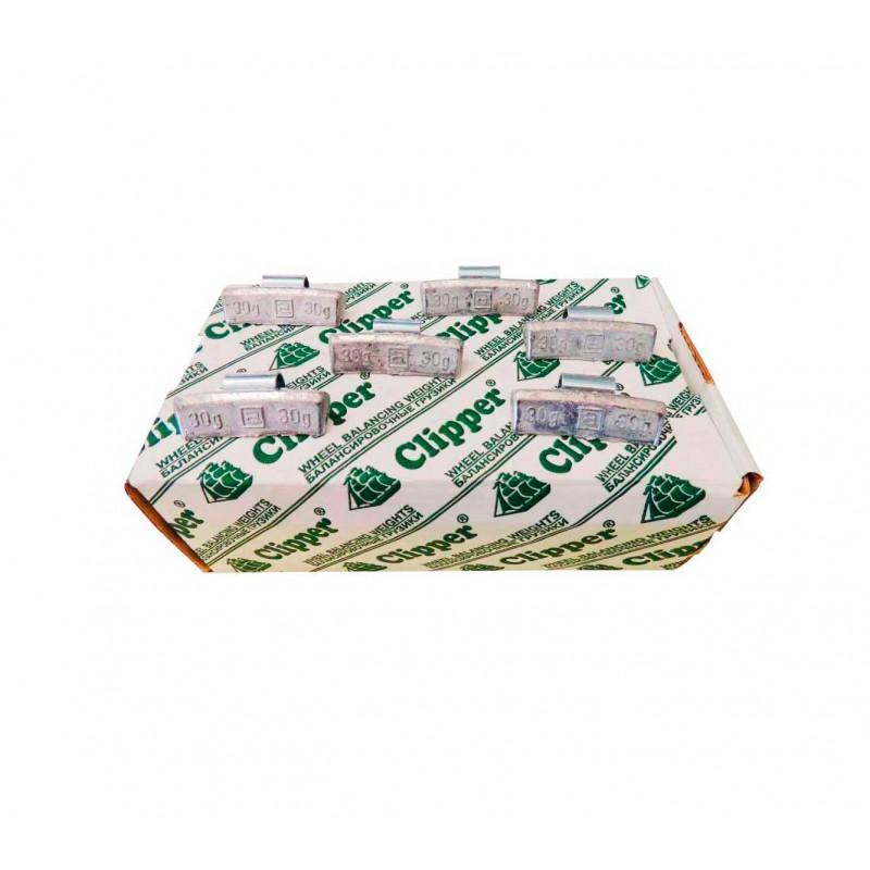 Упаковка грузиков по 30 грамм на литьё (100 шт.)