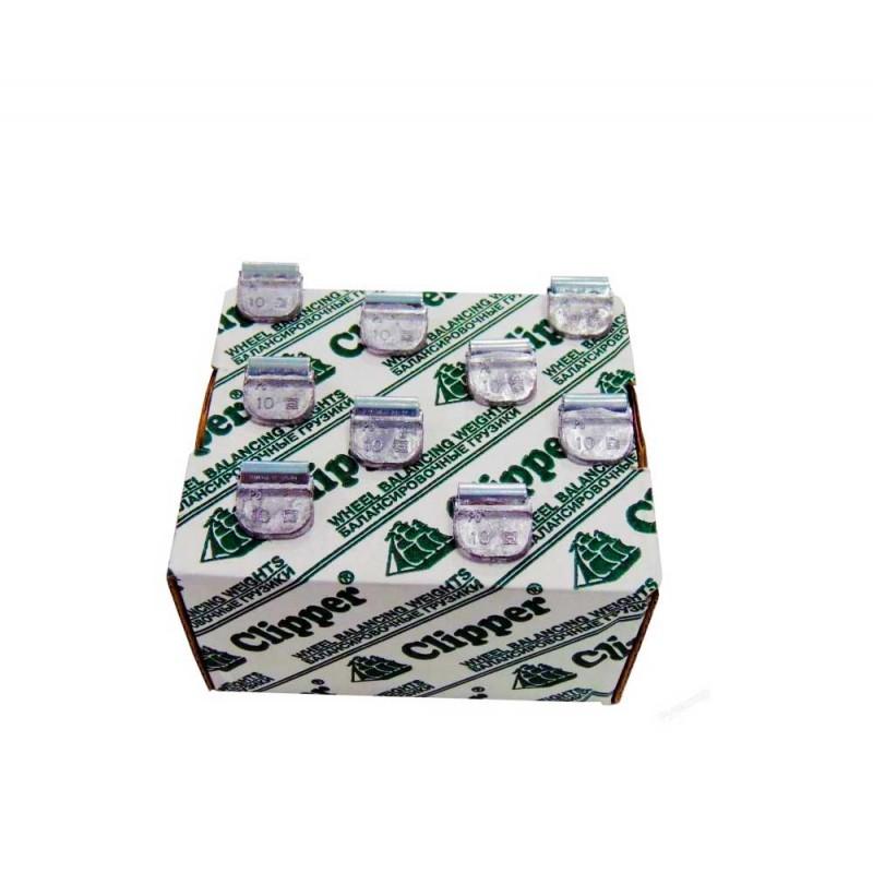Упаковка грузиков по 10 грамм на штамповку (100 шт.)