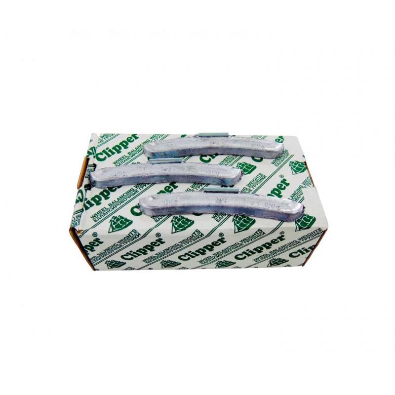 Упаковка грузиков по 100 грамм на штамповку  (25 шт.)