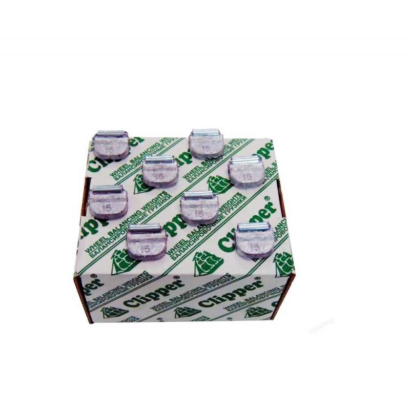 Упаковка грузиков по 15 грамм на штамповку (100 шт.)