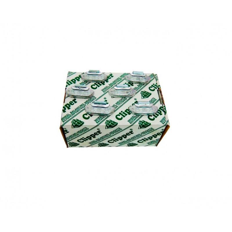 Упаковка грузиков по 25 грамм на штамповку (100 шт.)