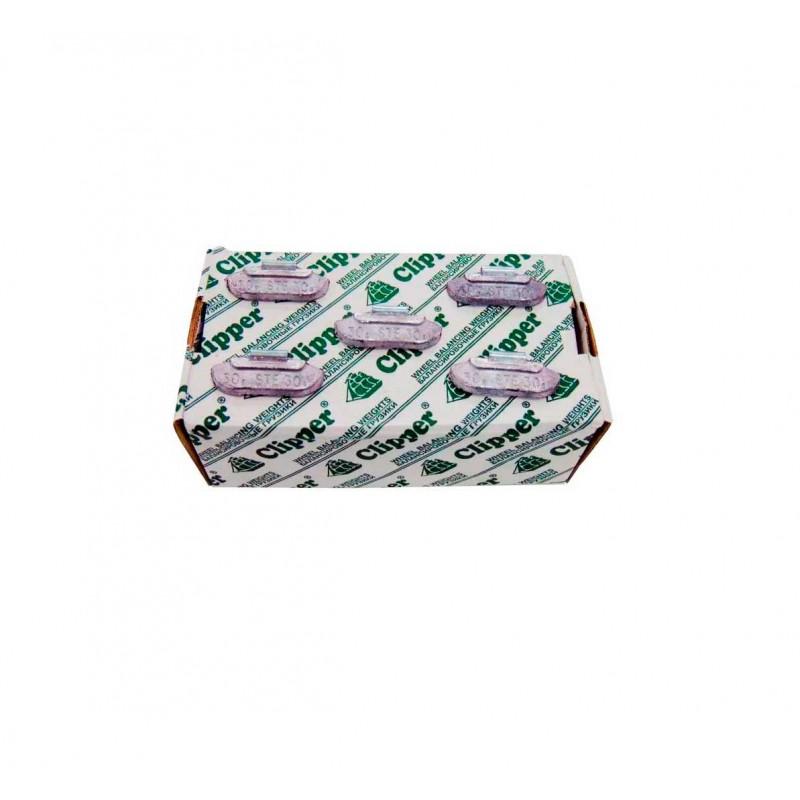 Упаковка грузиков по 30 грамм на штамповку (100 шт.)
