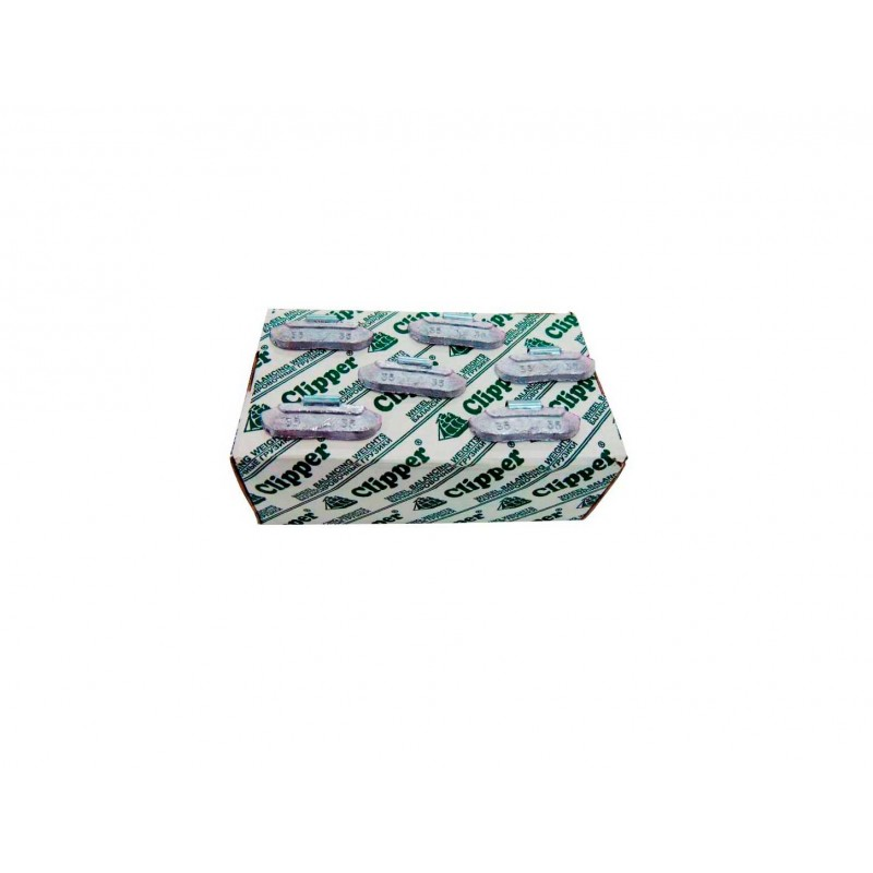 Упаковка грузиков по 35 грамм на штамповку (100 шт.)