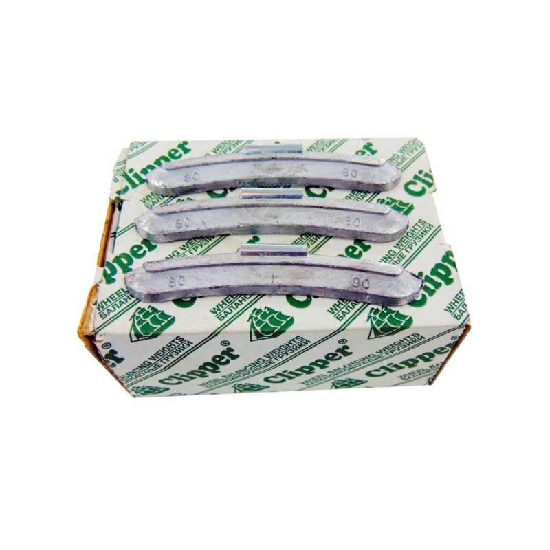 Упаковка грузиков по 80 грамм на штамповку (25 шт.)