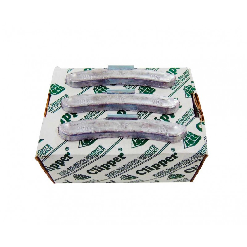 Упаковка грузиков по 90 грамм на штамповку (25 шт.)