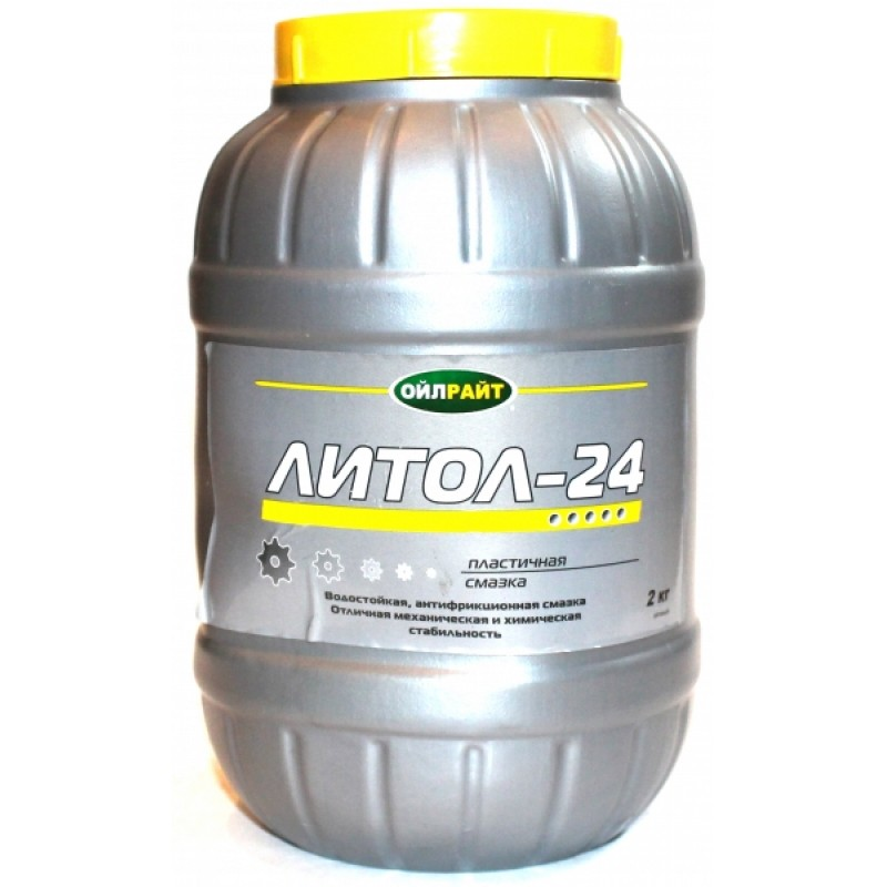 "Смазка Литол-24 ""ойлрайт"" (2 кг)"