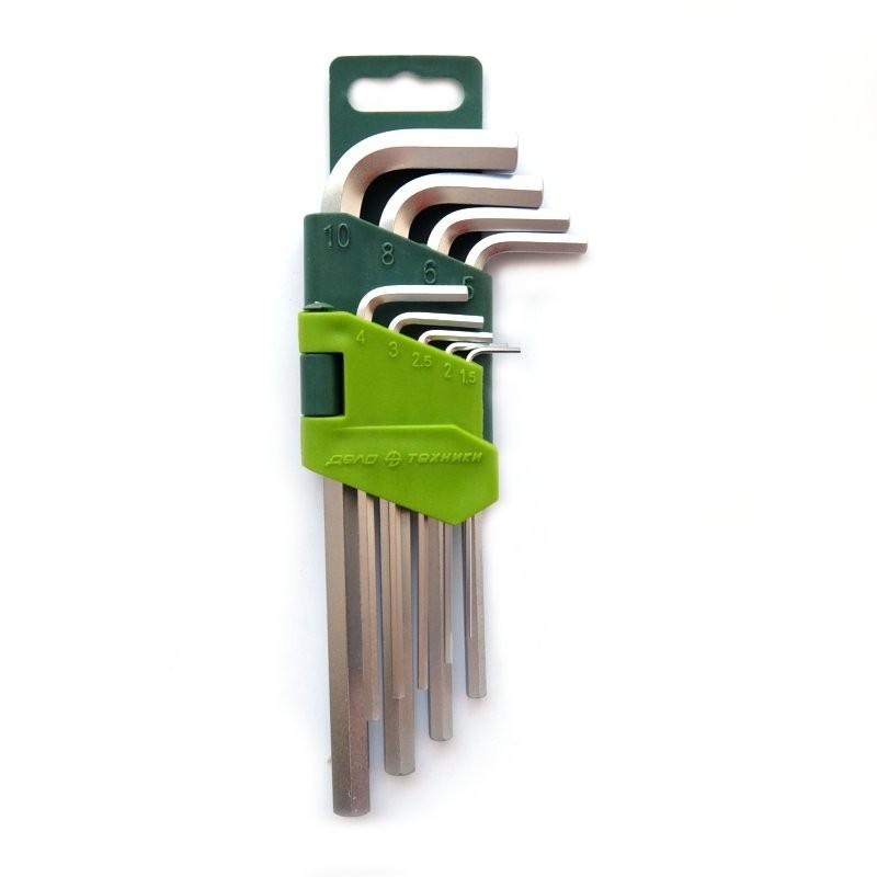 Ключи шестигранные (9 шт.)