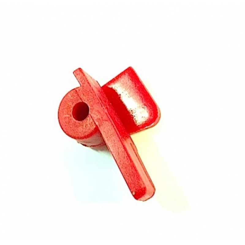 Пластиковая вставка (вместо ролика)(красная) C0011064 (30914)