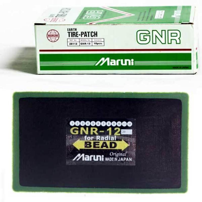 "Пластырь 70*120 мм (1 слой корда) ""Maruni"" (10 шт.) GNR 12"