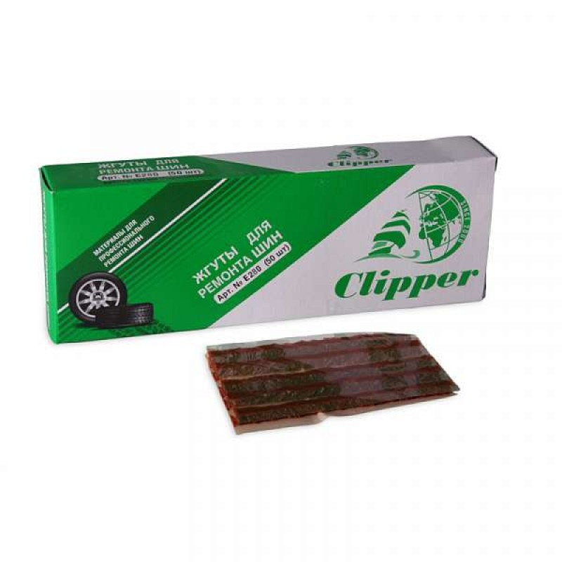 "Жгуты (коричневый) 100 мм ""CLIPPER"" E280 (50 шт.)"