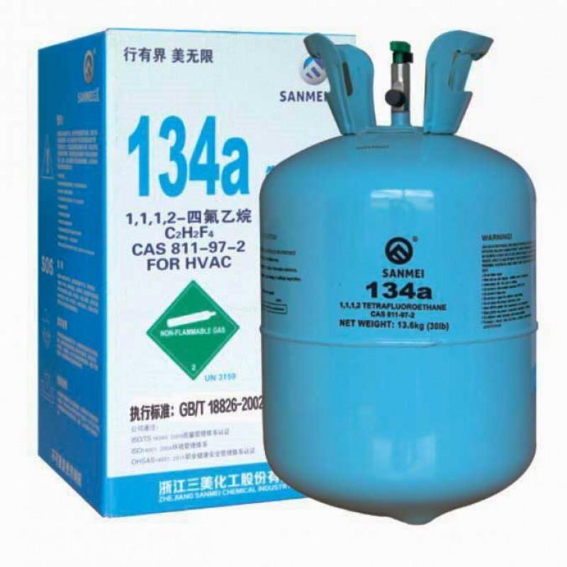 Фреон (хладон) для кондиционера R134A 13,6 кг.  (1шт)