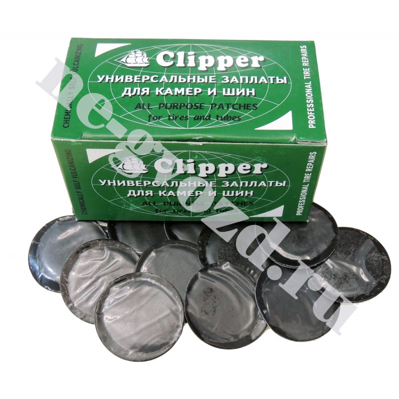 "Заплатки камерные 32 мм ""Clipper"" (100 шт.) B032"