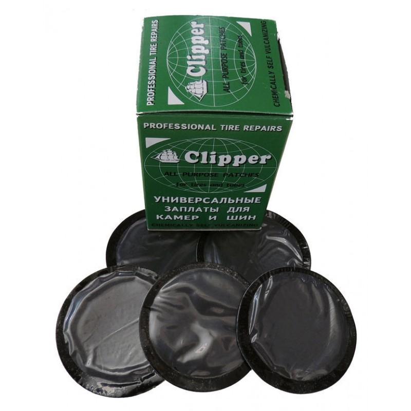 "Заплатки камерные 57 мм ""Clipper"" (30 шт.) B057"